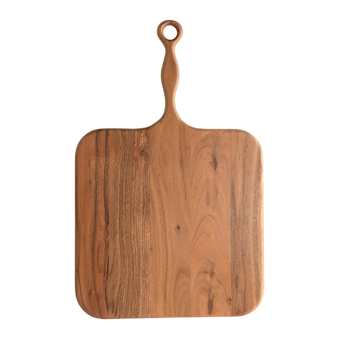 Acacia Wood Cheese/Cutting Board with Handle