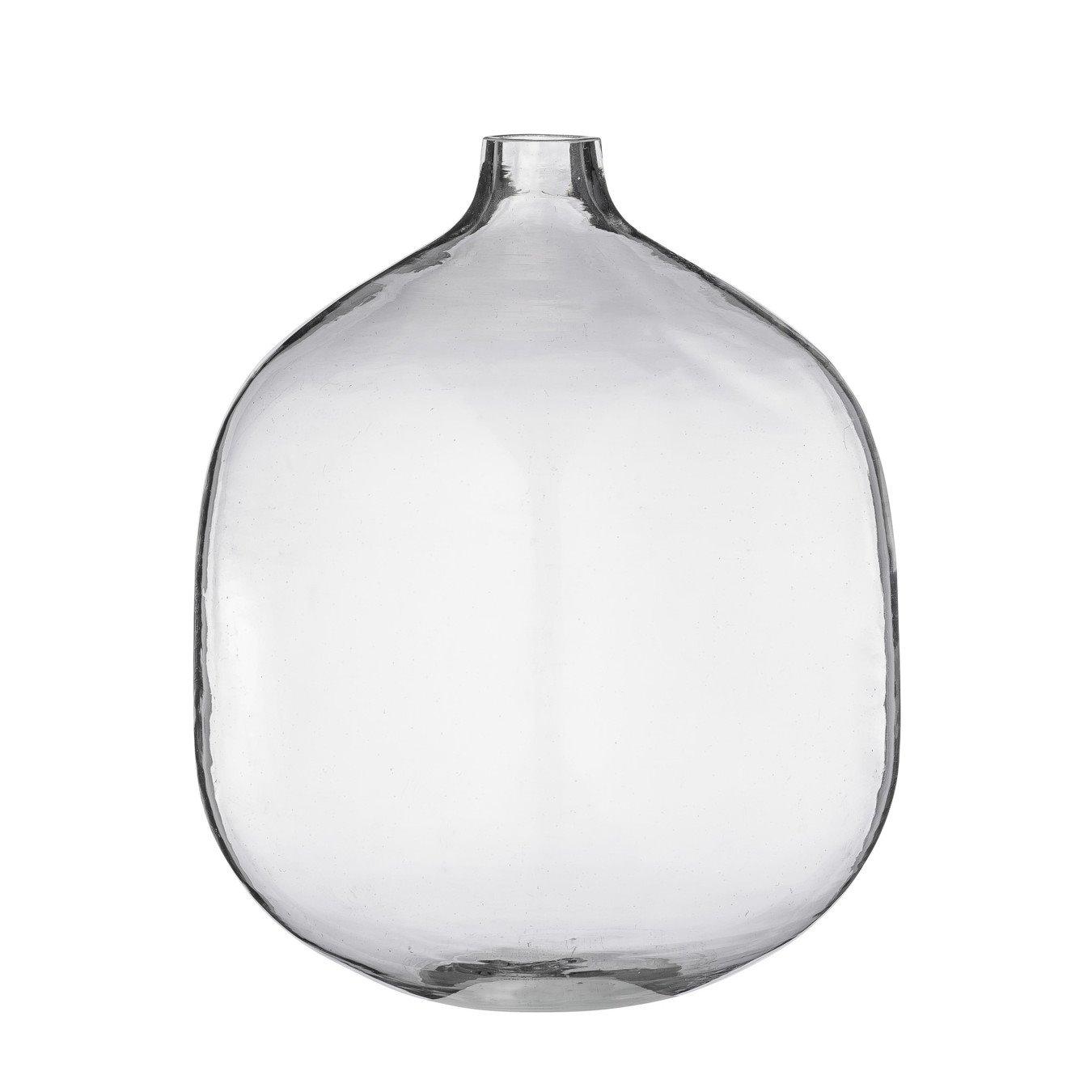 Stout Clear Glass Vase