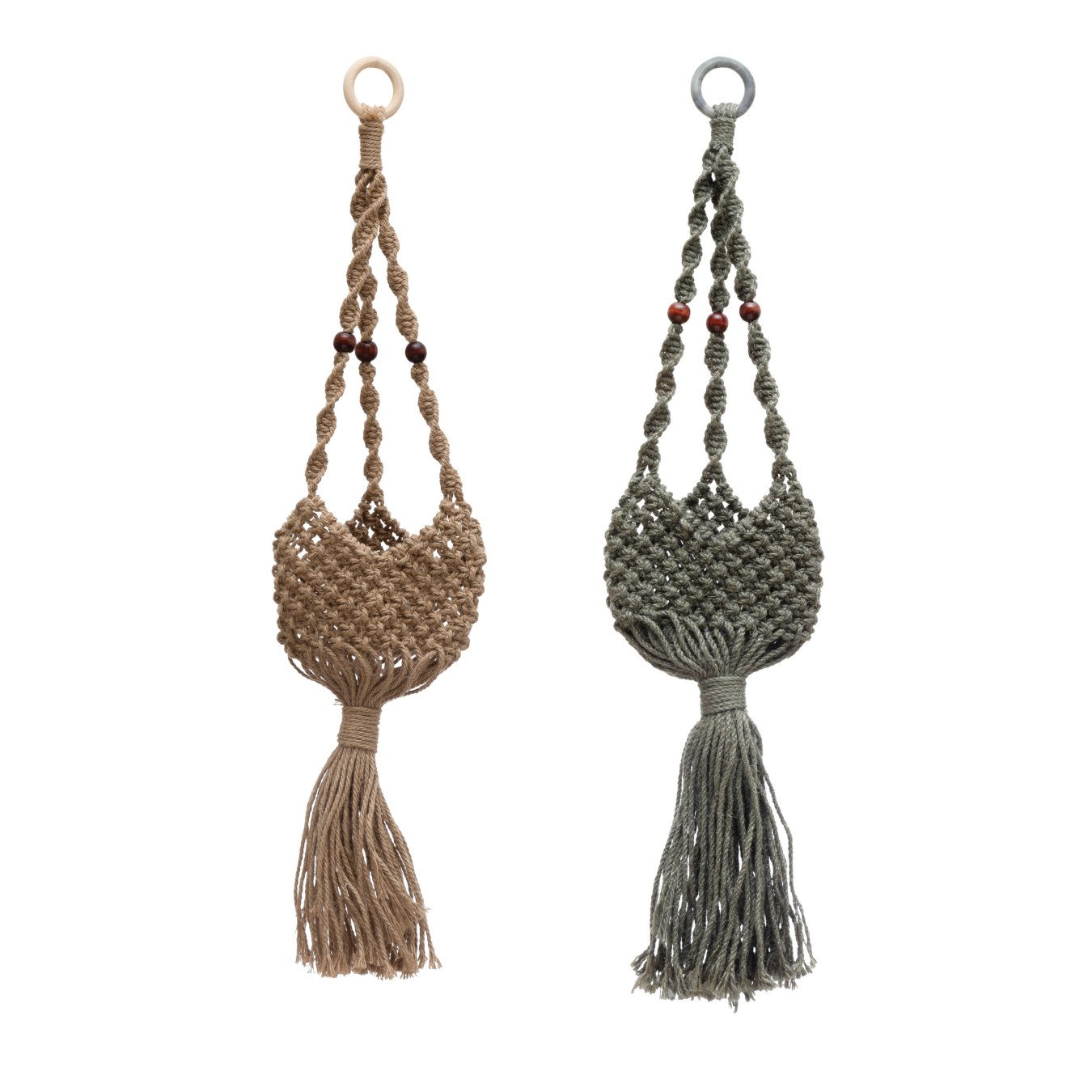 Jute Plant Hanger, 2 Colors
