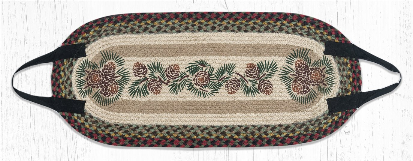 """Pinecone Braided Log Carrier 15""""x35"""""""