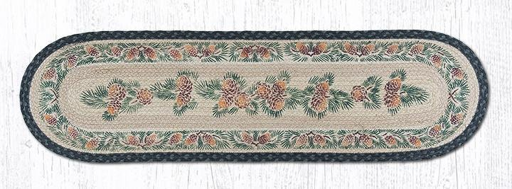 """Pinecone Oval Braided Runner 13""""x48"""""""