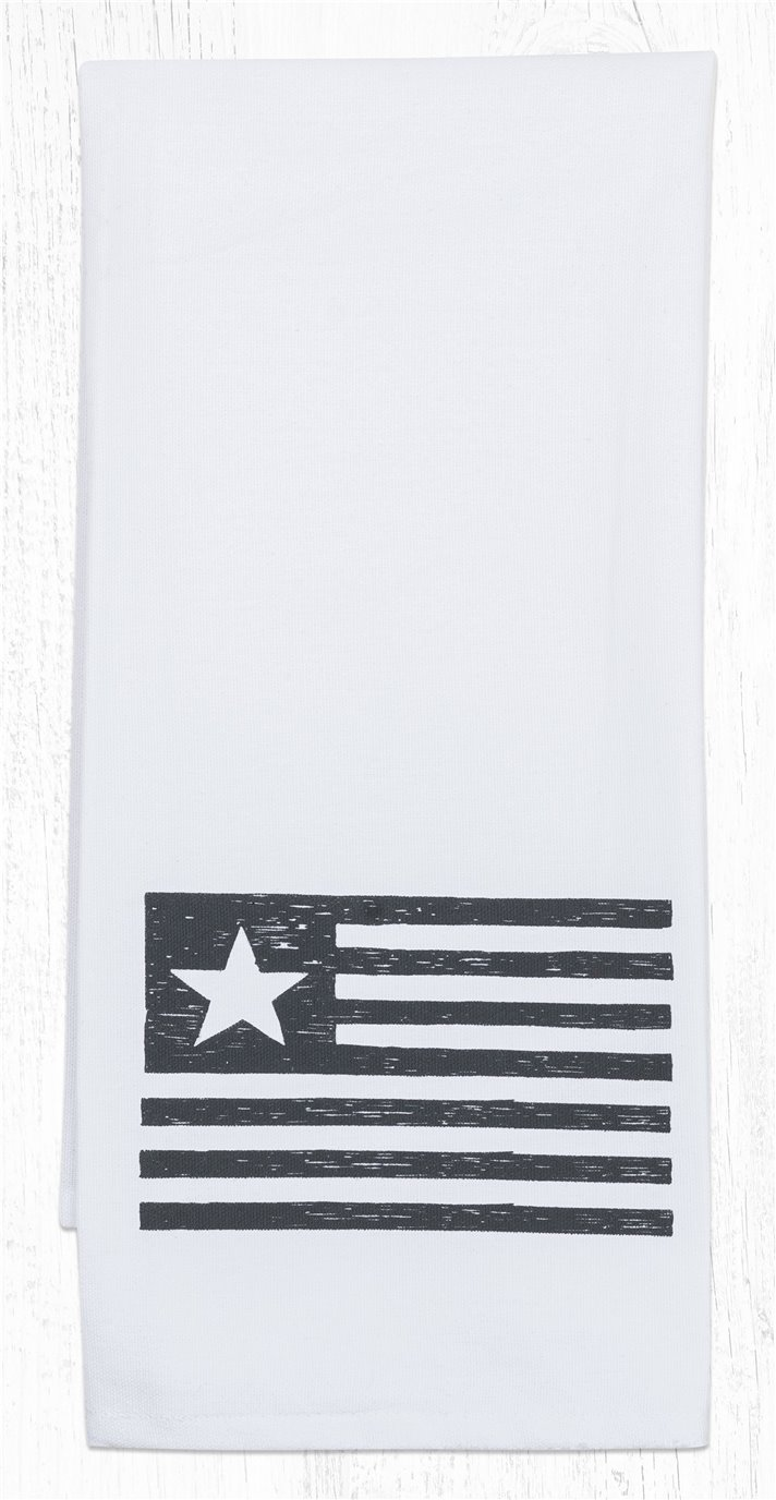 "Flag Cotton Tea Towels 20""x28"""