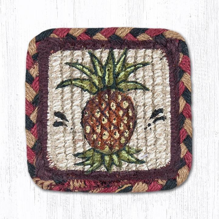 """Pineapple Wicker Weave Braided Swatch 10""""x15"""""""