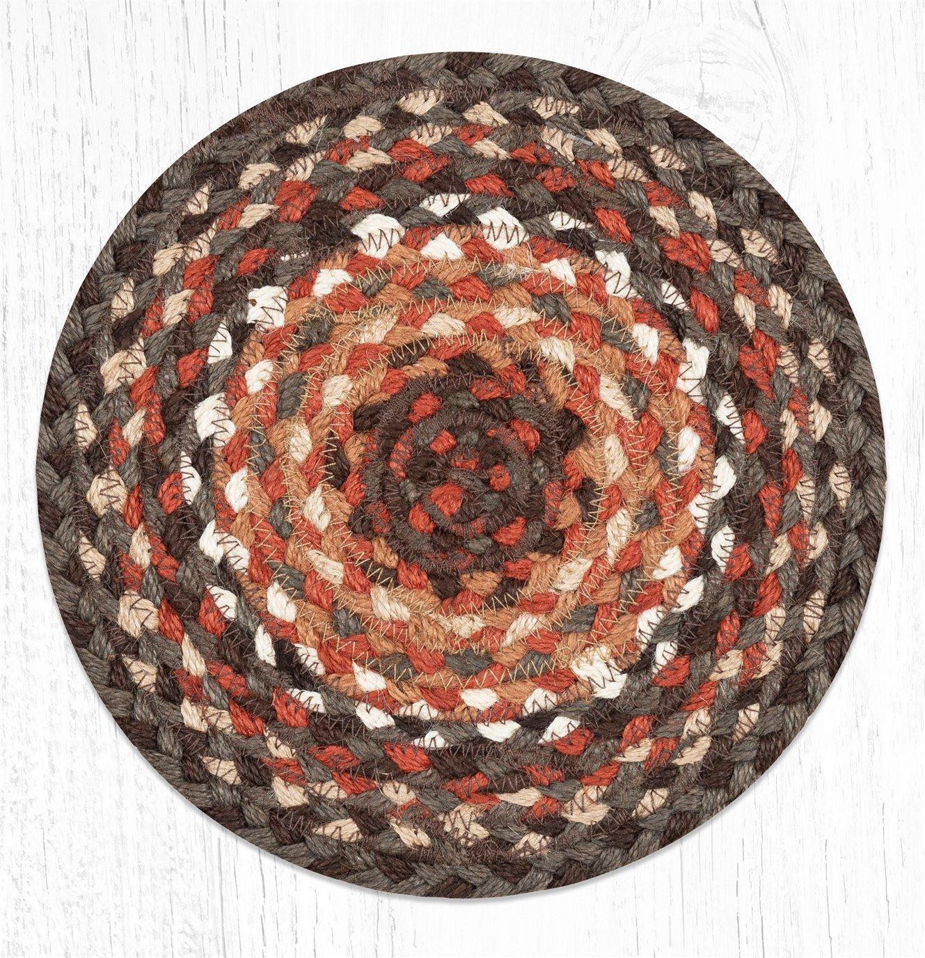 Dark Brown/Taupe/Terracotta