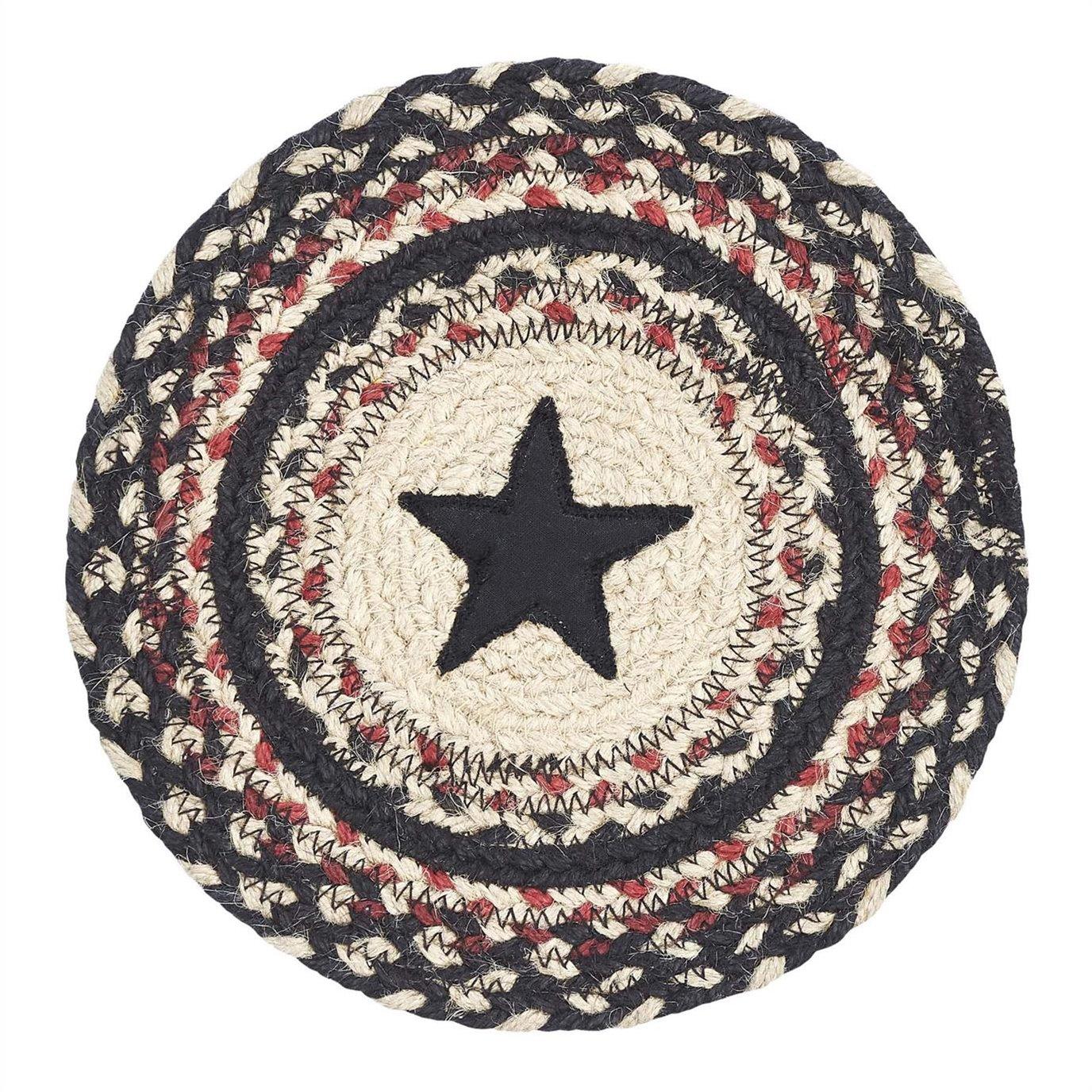 Colonial Star Jute Trivet 8