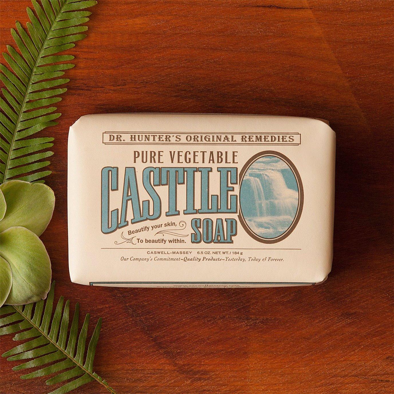 Caswell-Massey Dr. Hunter Vegetable Castile Soap (6.5 oz.)