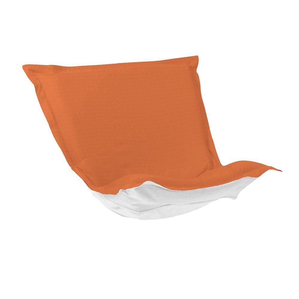 Howard Elliott Puff Chair Cushion Outdoor Sunbrella Seascape Canyon Cushion and Cover