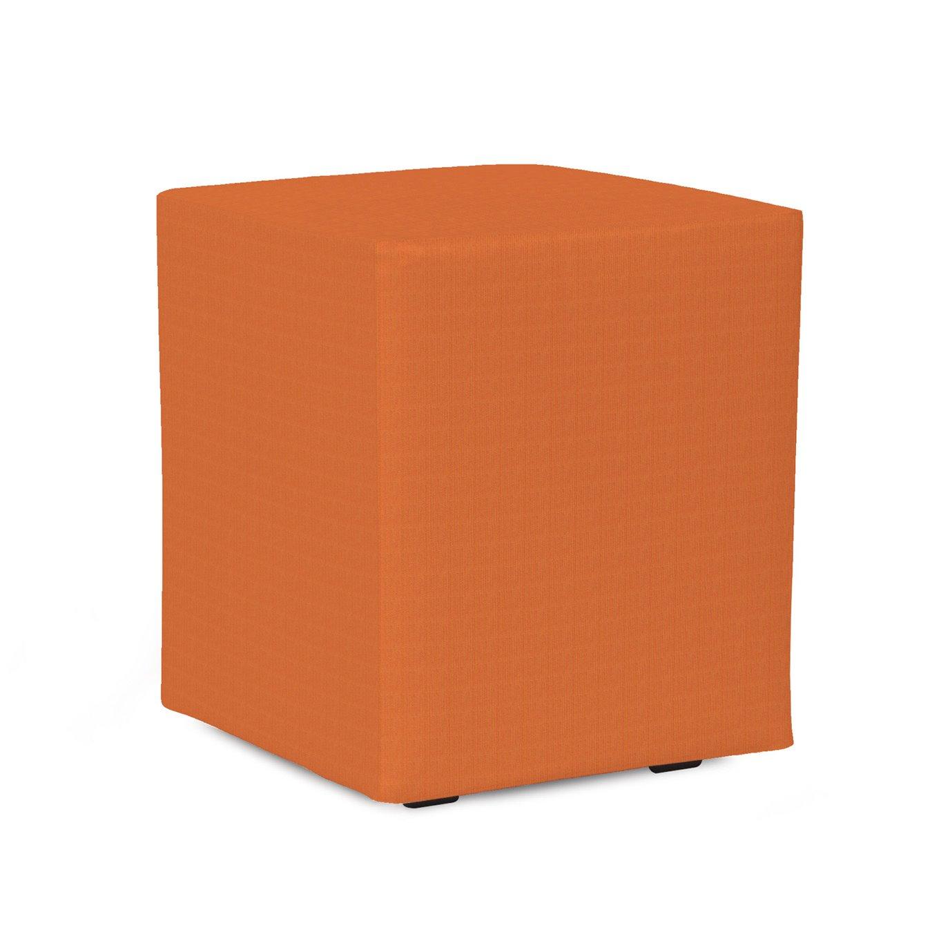 Howard Elliott Universal Cube Outdoor Sunbrella Seascape Canyon Complete Ottoman