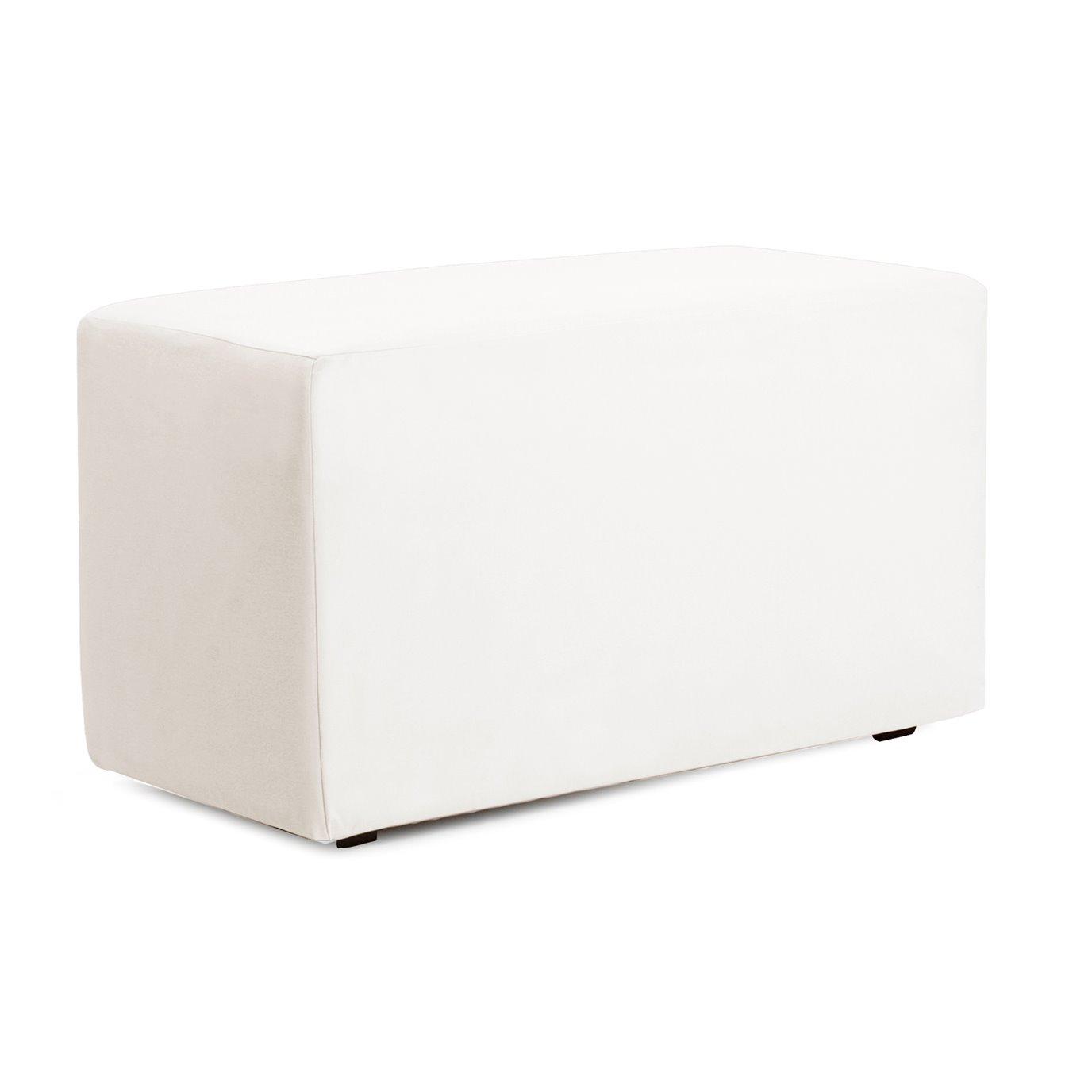 Howard Elliott Universal Bench Cover Outdoor Marine Grade Vinyl White - Cover Only, Base Not Included