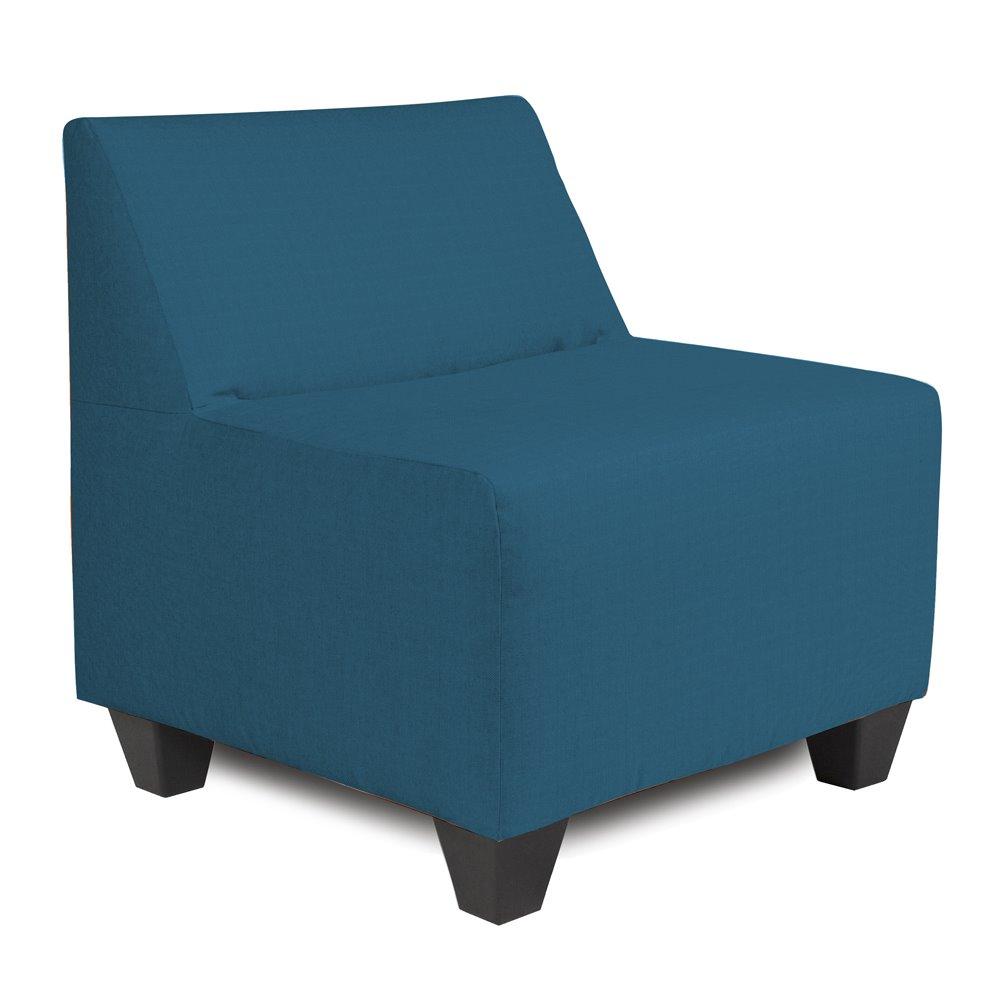 Howard Elliott Pod Chair Outdoor Sunbrella Seascape Turquoise Complete Chair