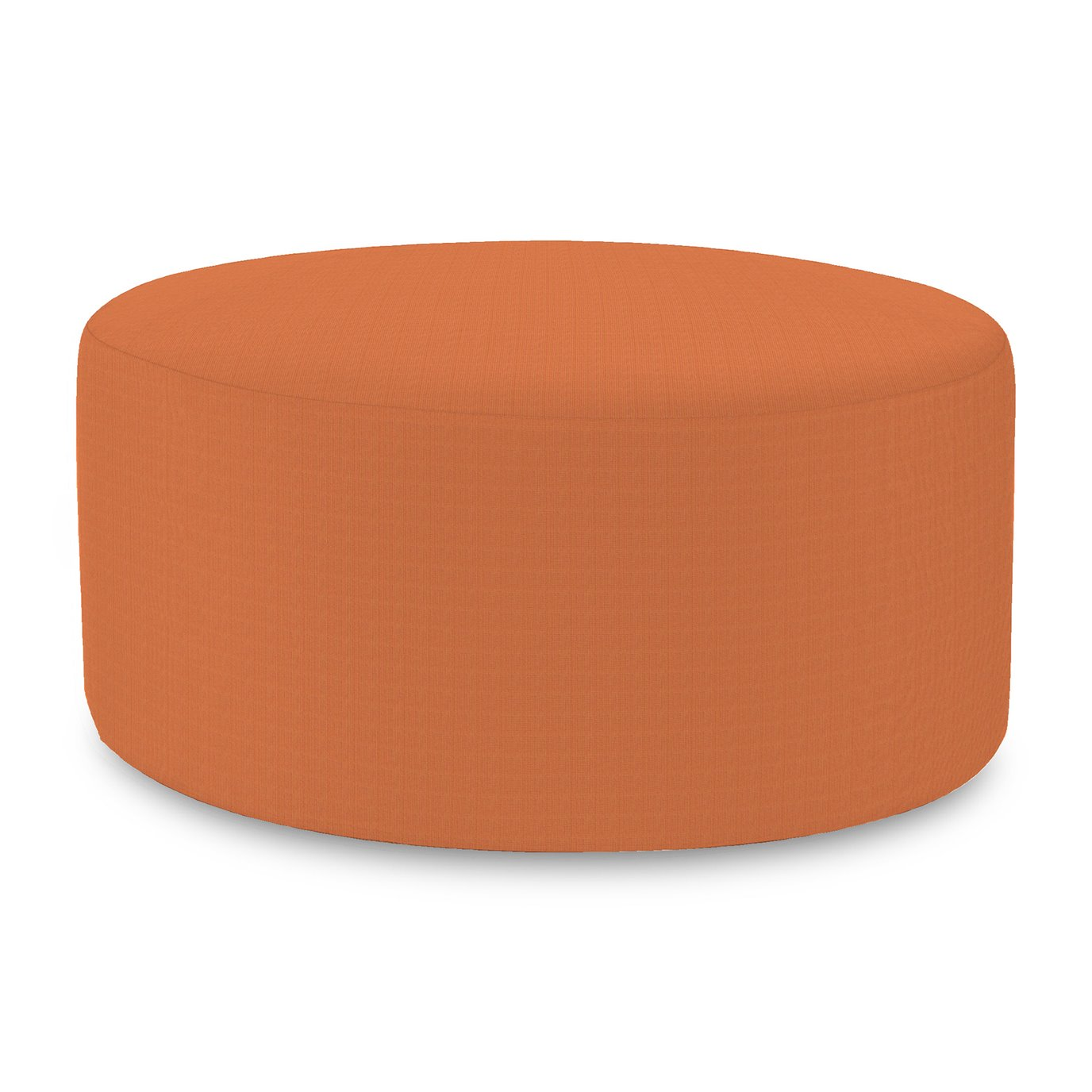 Howard Elliott Universal Round Ottoman Cover Sunbrella Outdoor Seascape Canyon - Cover Only, Base Not Included