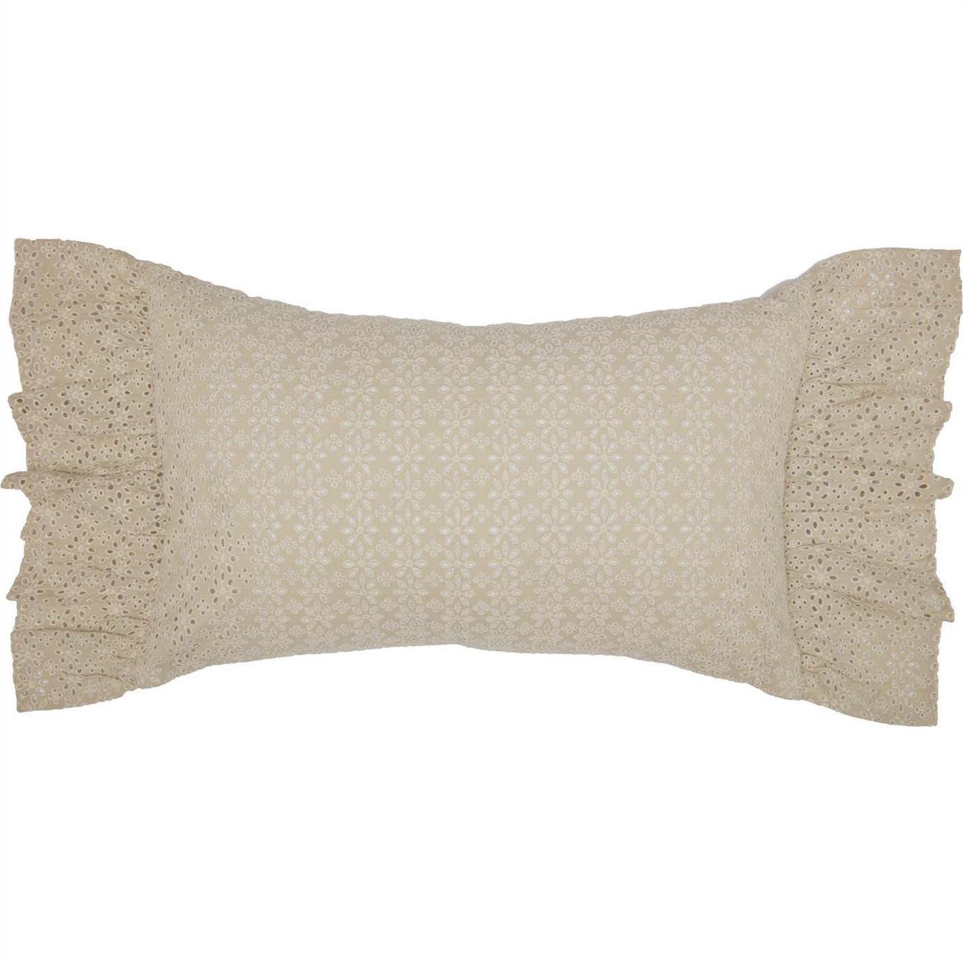 Camilia Eyelet Pillow 14x22