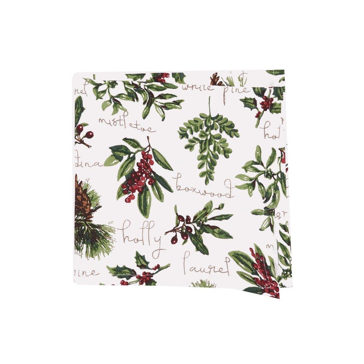 Winter Botanical Napkin