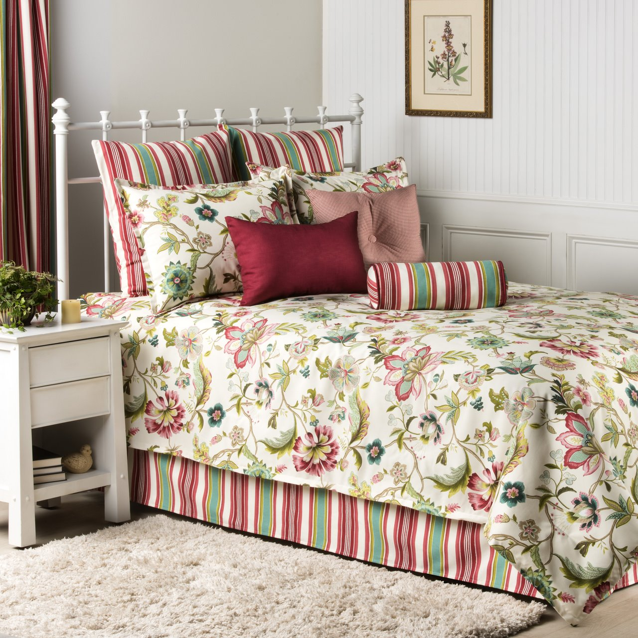 Charleston 3 Piece Full Comforter Set