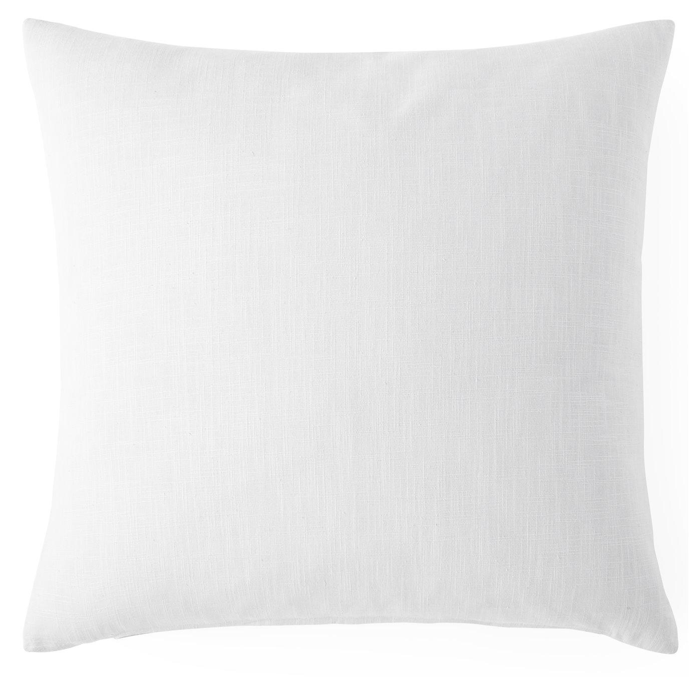 "Cambric White Square Cushion 20""x20"""