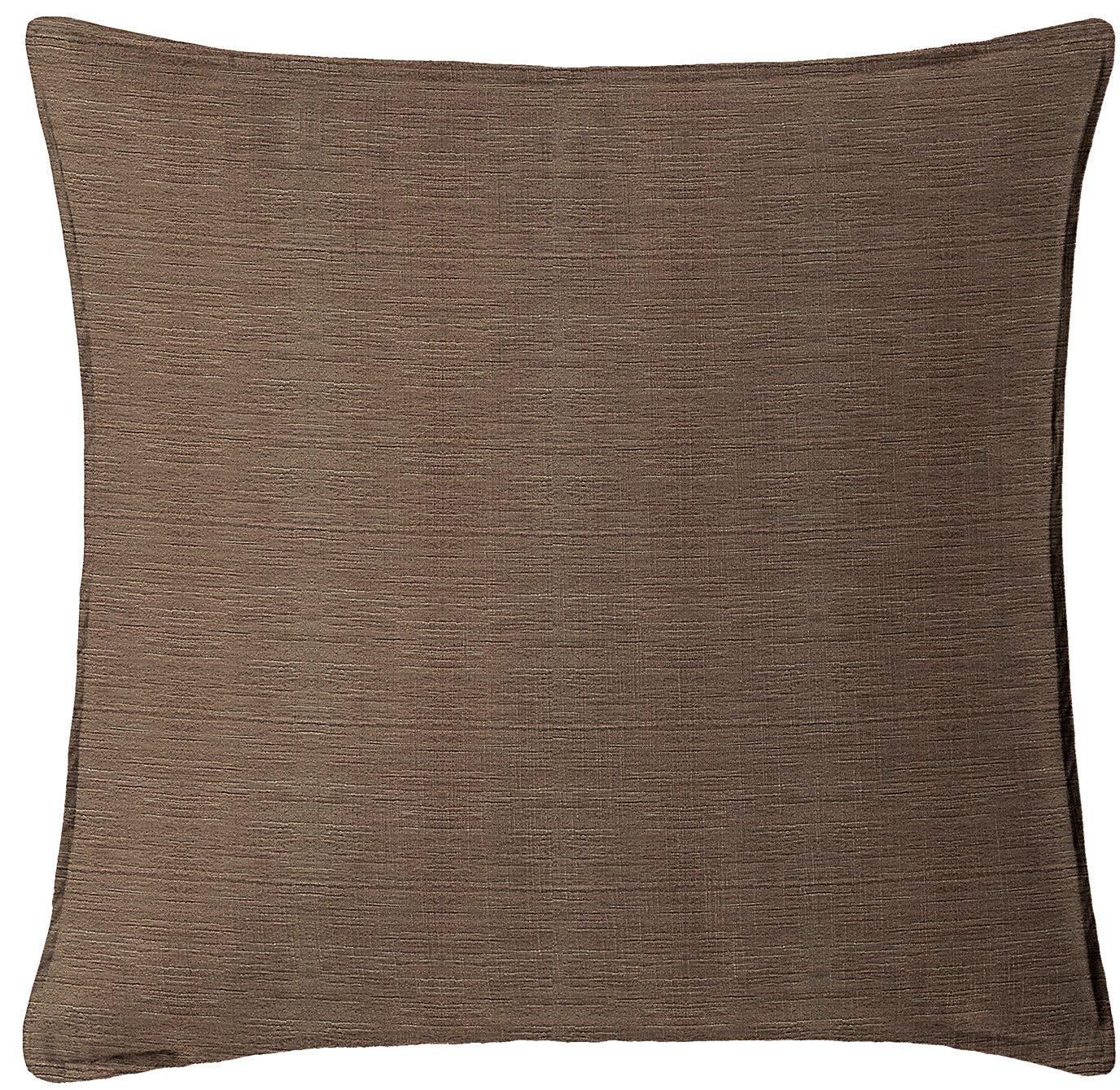 """McGregor Chocolate Square Pillow 18""""x18"""""""