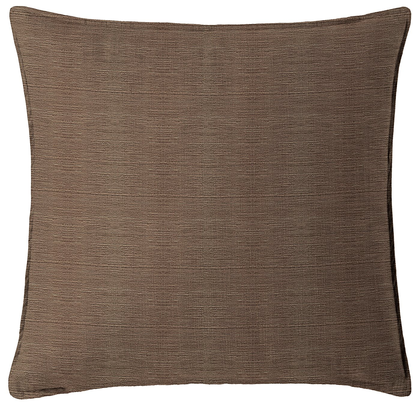 """McGregor Chocolate Square Pillow 20""""x20"""""""