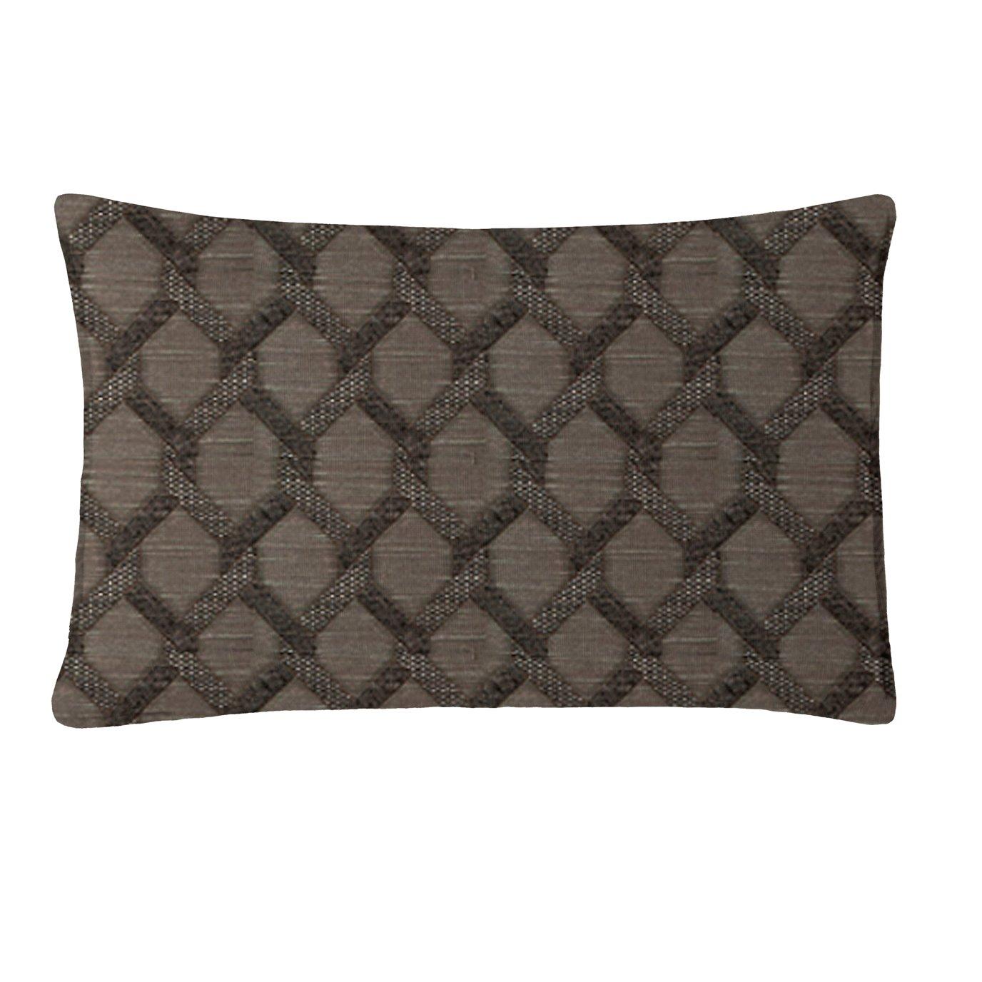 """Malden Charcoal Rectangle Pillow 14""""x22"""""""
