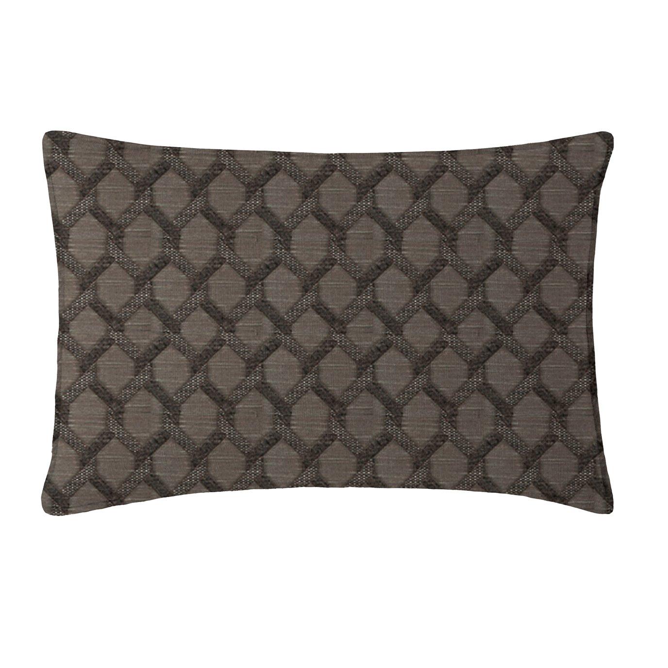 Malden Charcoal Pillow Sham Standard/Queen