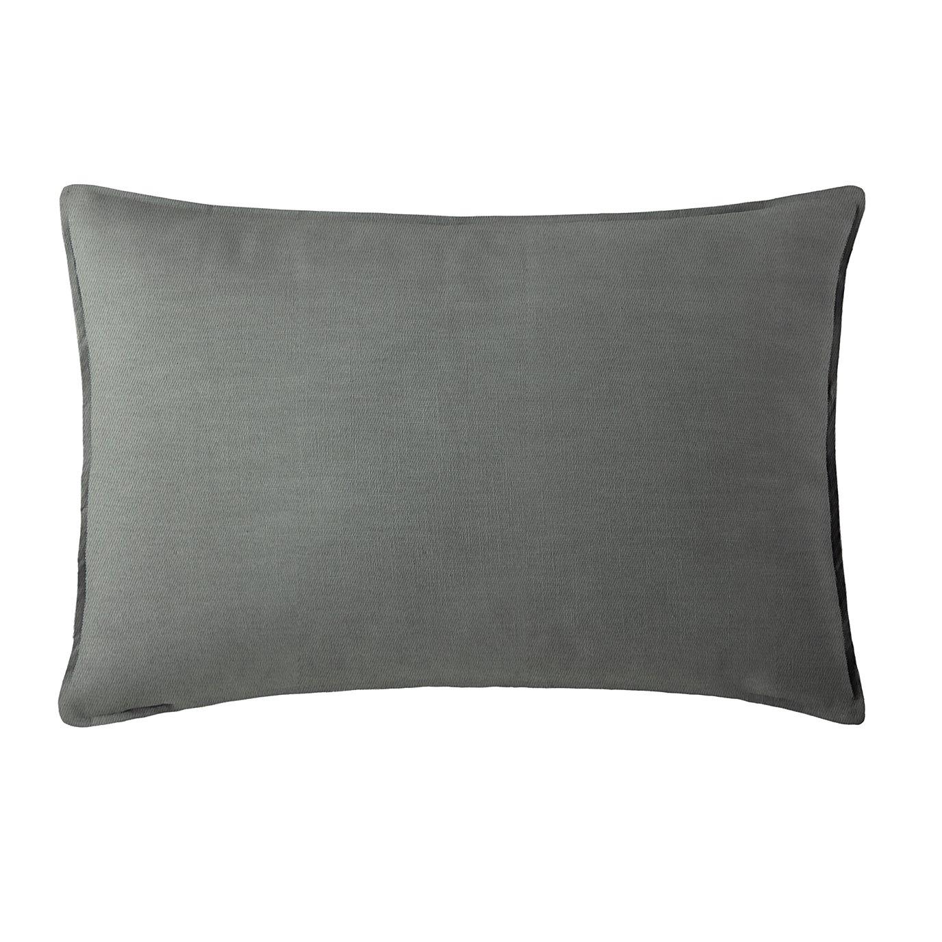 Harrow Charcoal Pillow Sham Standard/Queen