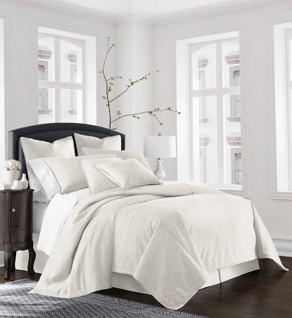 Gosfield Vanilla Comforter Set - Super Queen