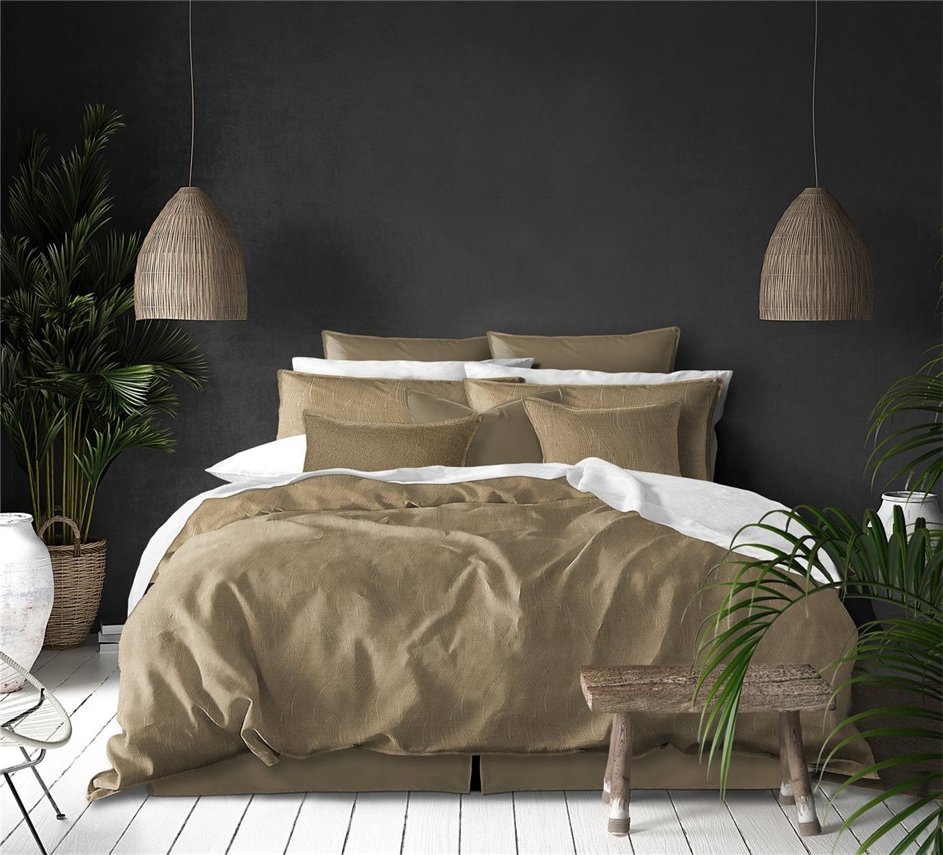 Elmwood Comforter Set - Super Queen