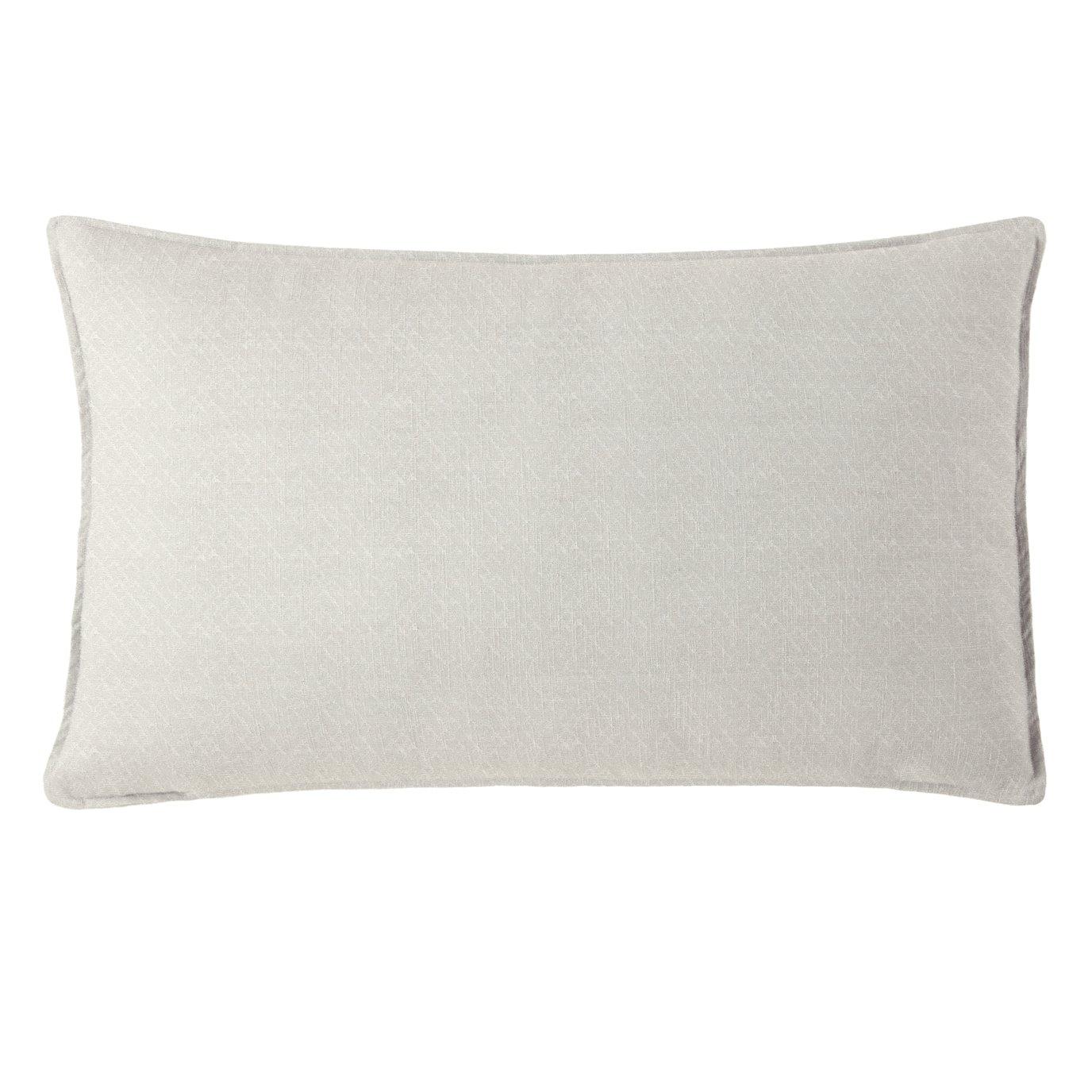 "Gosfield Vanilla Rectangle Pillow 14""x42"""