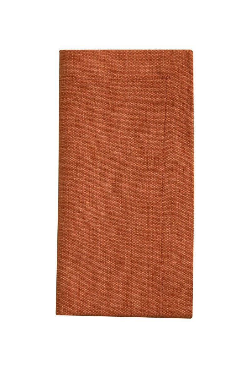 Terracotta Chadwick Woven Napkin