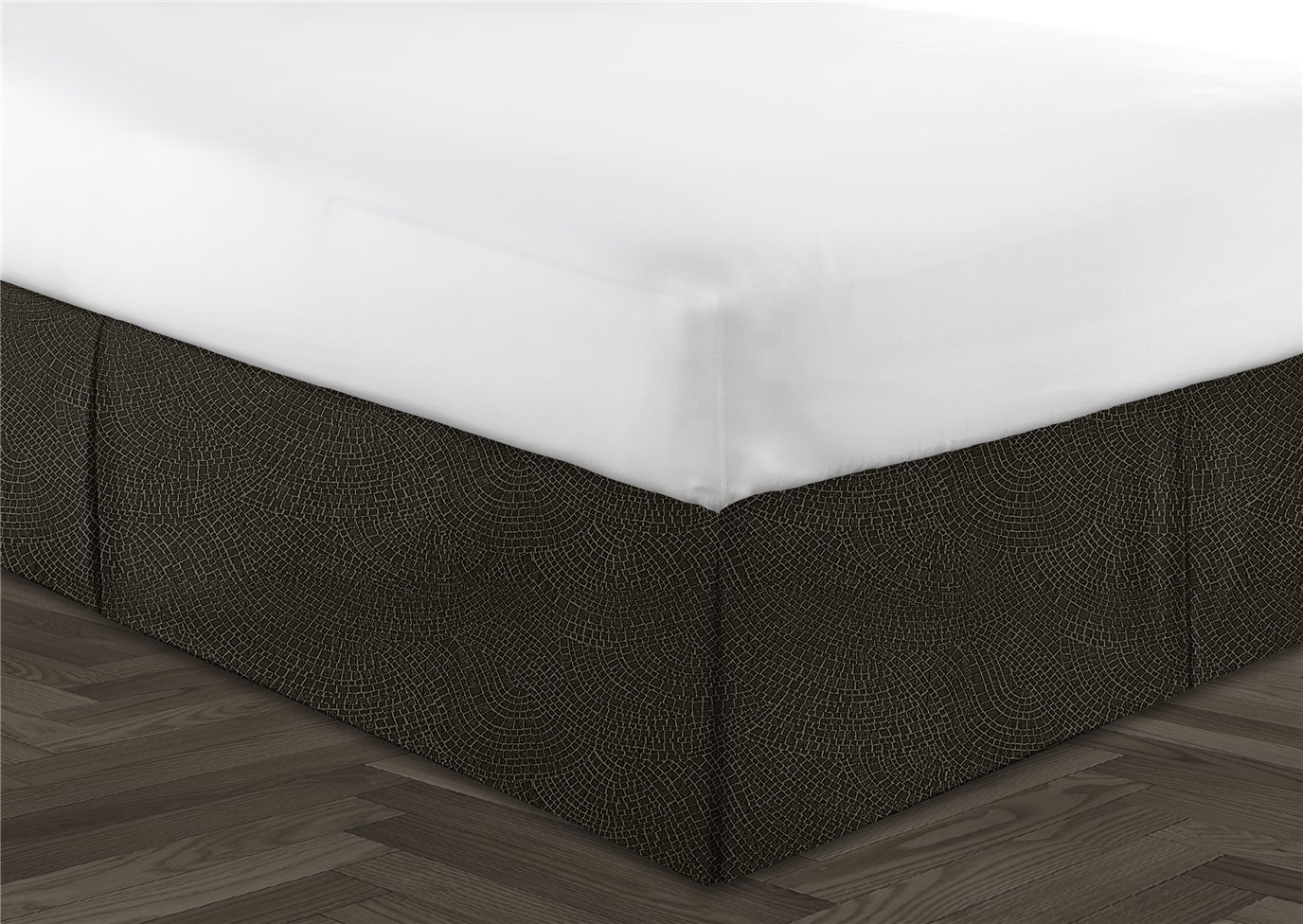 """Hickory Lane Coordinate Bedskirt 18"""" Drop - Full/Double"""