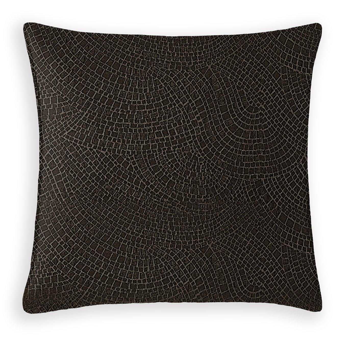 Hickory Lane Decorative Cushion - 20 Inch Square - Coordinating Velvet
