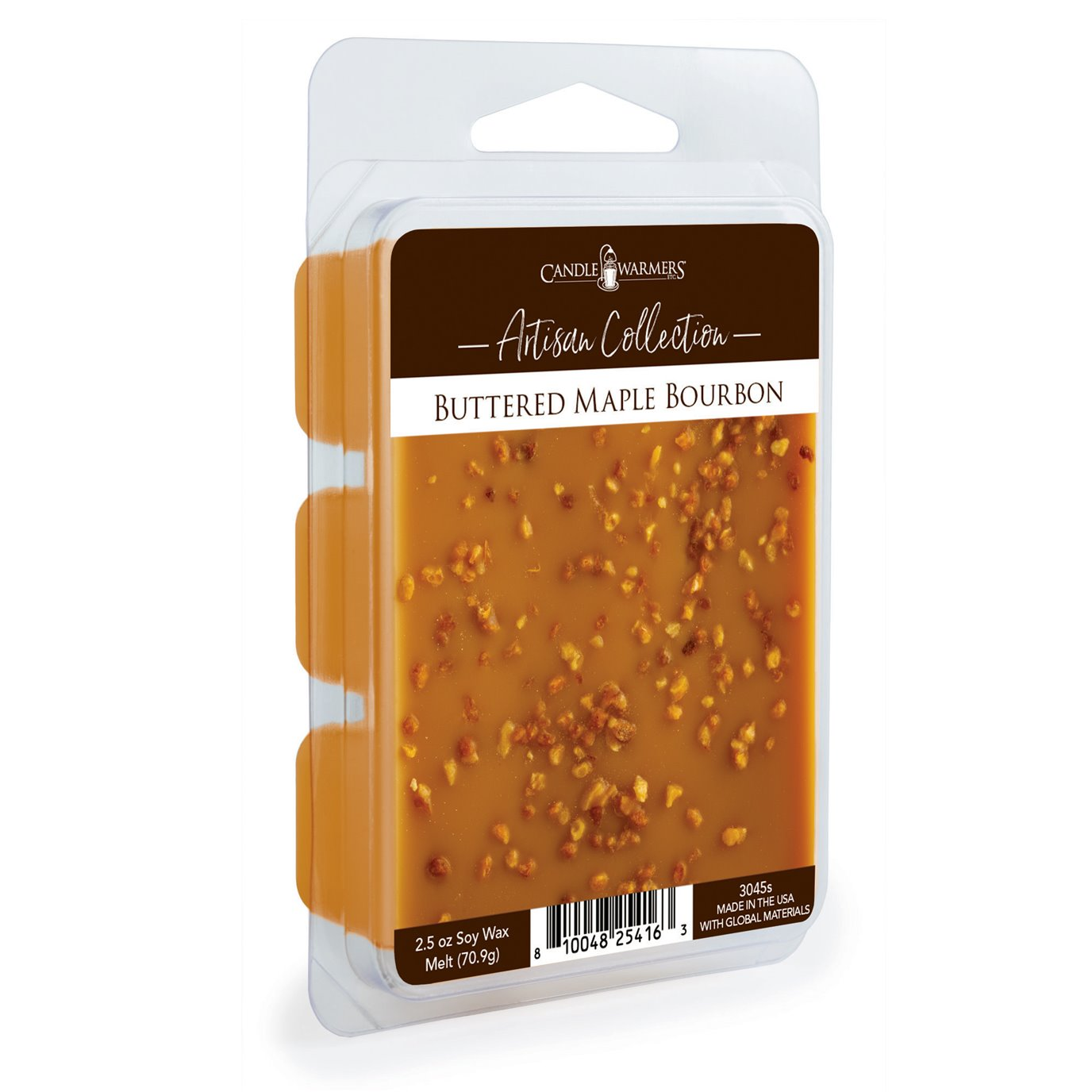 Buttered Maple Bourbon Artisan Wax Melts by Candle Warmers 2.5 oz