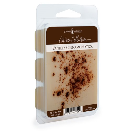 Vanilla Cinnamon Stick Artisan Wax Melts by Candle Warmers 2.5 oz