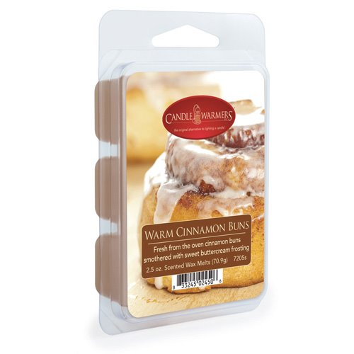 Warm Cinnamon Buns Wax Melts by Candle Warmers 2.5 oz