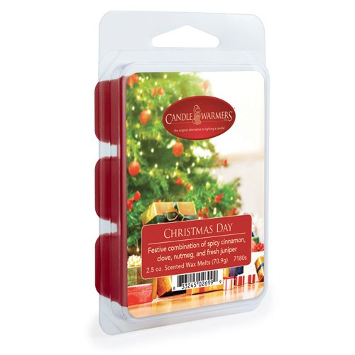Christmas Day Wax Melts by Candle Warmers 2.5 oz