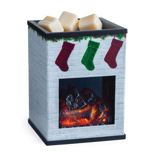 Holiday Fireplace Illumination Wax Warmer by Candle Warmers