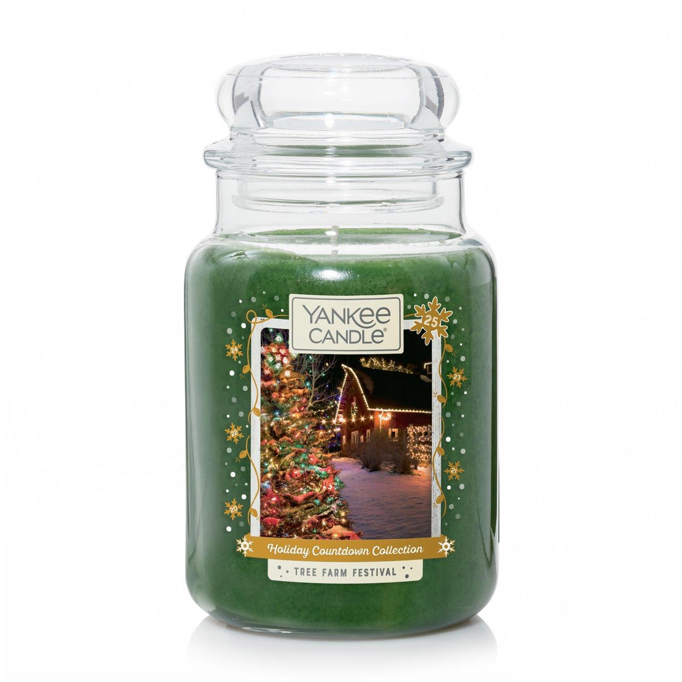 Yankee Candle Tree Farm Festival Large Jar Candle