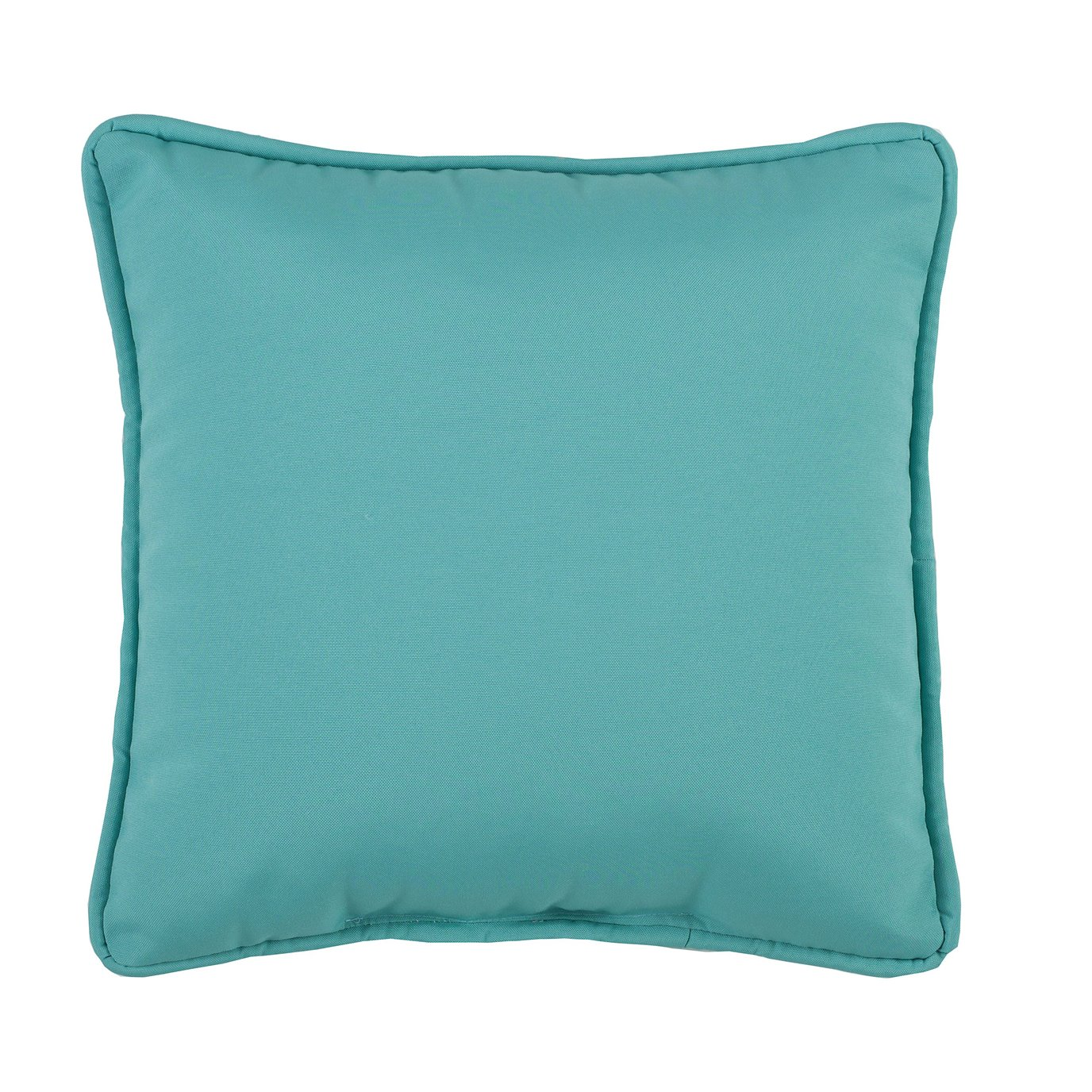 Tropical Paradise Blue Square Pillow - Teal