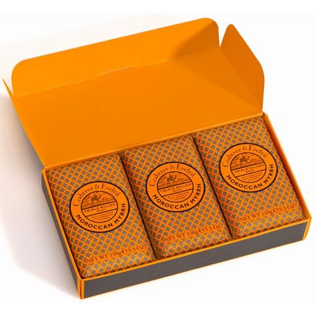 Crabtree & Evelyn Moroccan Myrrh Moisturizing Soap (3 x 5.3 oz, 150g)