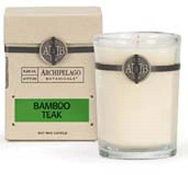 Archipelago Bamboo Teak Soy Boxed Candle