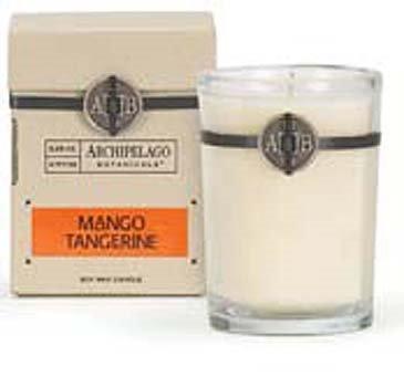 Archipelago Mango Tangerine Soy Boxed Candle