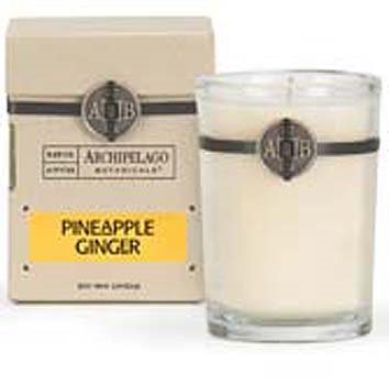 Archipelago Pineapple Ginger Soy Boxed Candle