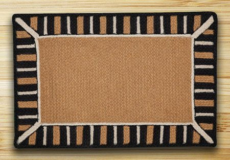 "Caramel Soft Patch In The City In The City Rug 27""x45"""