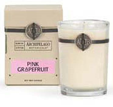 Archipelago Pink Grapefruit Soy Boxed Candle
