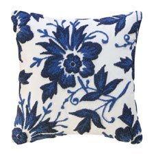 Stafford Royal Hooked Pillow
