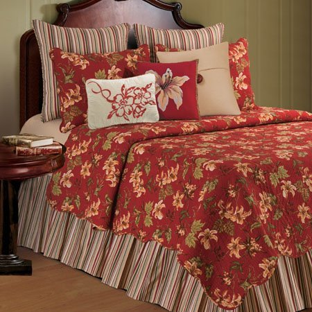 Lily Garden King Quilt