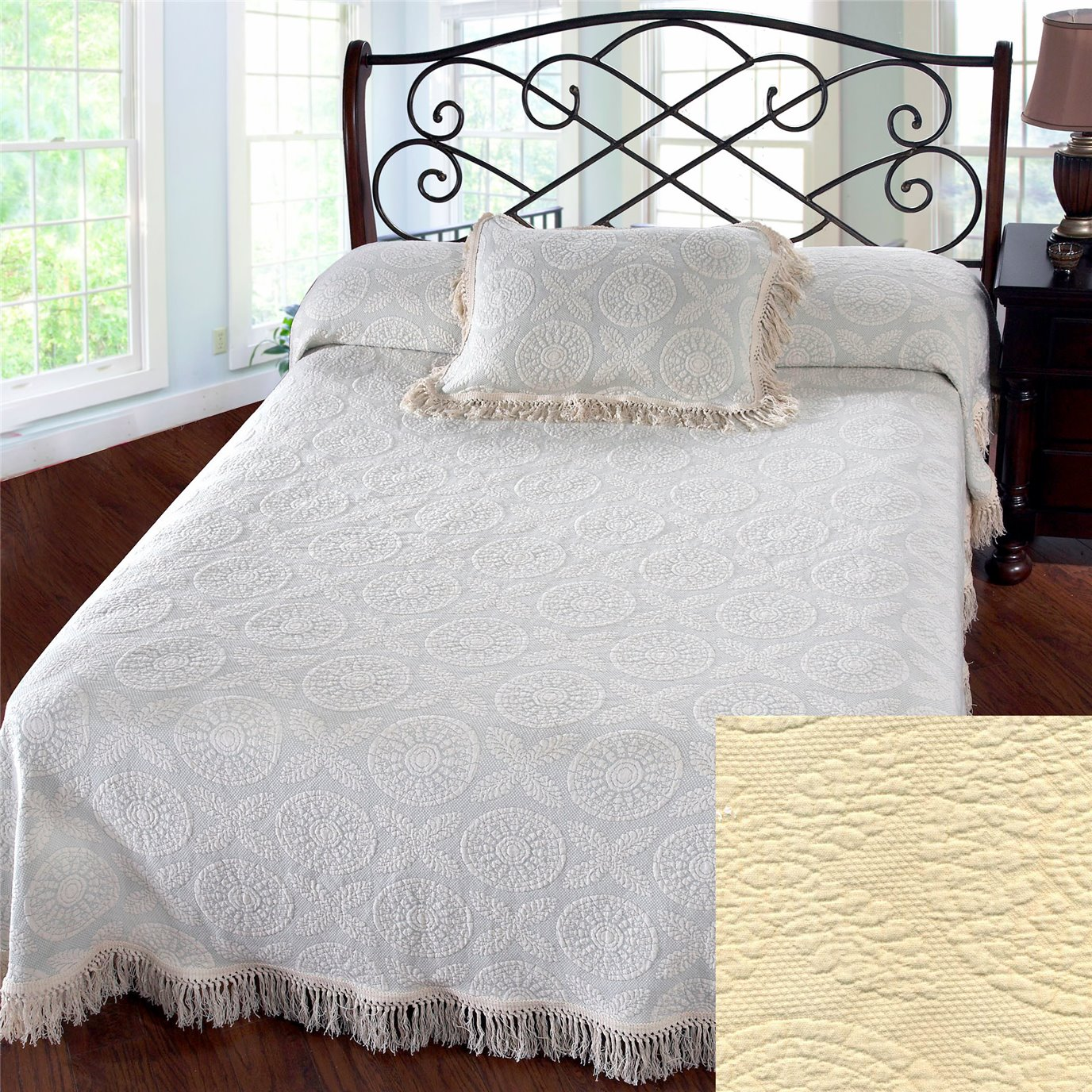 Heirloom King Antique Bedspread
