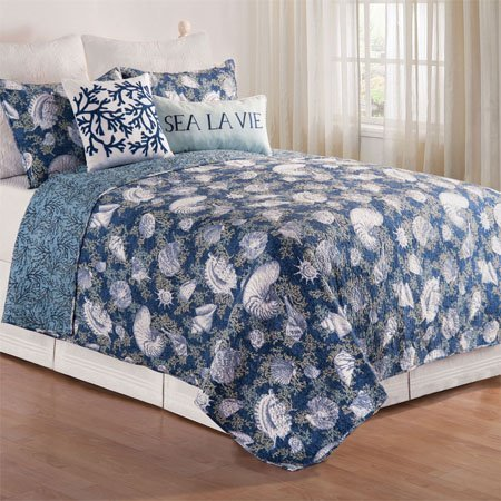 Cape Coral King 3 Piece Quilt Set