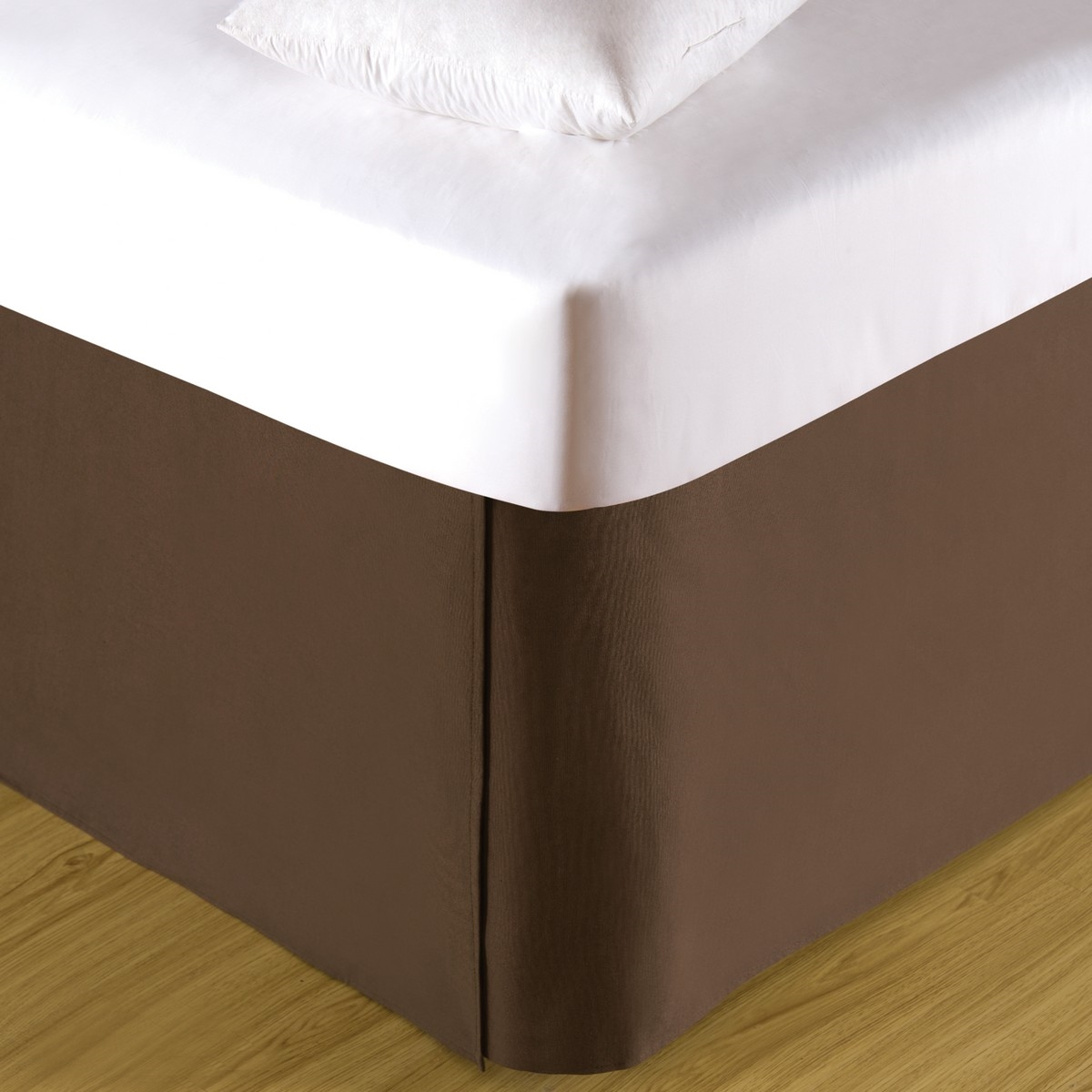 Cocoa Twin Bed Skirt