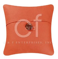 Terra Cotta Feather Down Pillow