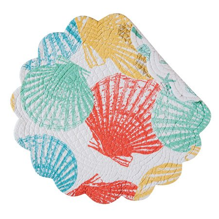 Captiva Island Round Quilted Placemat